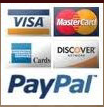 You may either use paypal or a credit card, NO Paypal account is required!